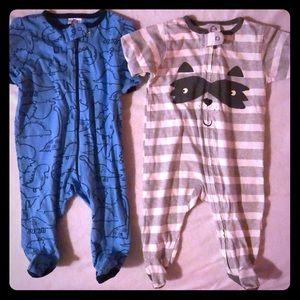Two infant sleepers